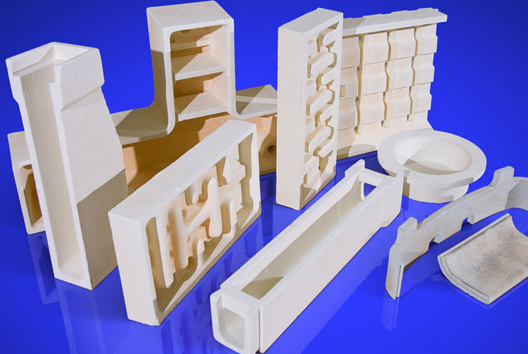 Fired refractory products